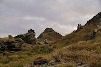 Dernier petit col avant d'arriver au Pic de Montaigu