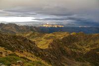 Toute la crete Sud Ouest menant au Pic de Montaigu
