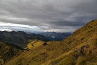 Les pentes Sud Est du Pic de Montaigu