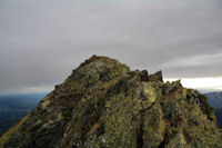 La crete finale du Pic de Montaigu