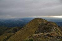 La crete pour acceder au second sommet du Pic de Montaigu