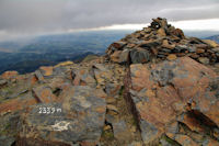 Au sommet du Pic de Montaigu