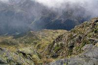 Un autre à pic sur les crêtes du Pic de Montaigu
