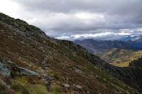 Les pentes Sud du Pic de Montaigu