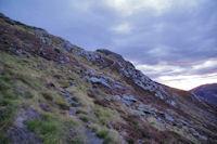 Au dessus du Col des Rosques