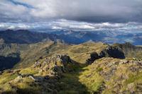 Belle allee menant au Col des Rosques