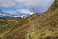 En arrivant au Col des Rosques