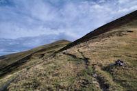 En montant au Col de Barran
