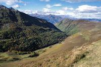 La vallee du ruisseau d'Isaby