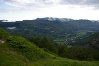 Arrens depuis le haut du Bois de la Sabardounere