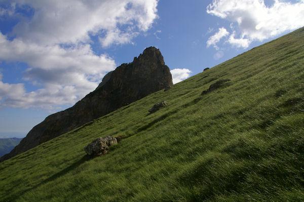 Le Pic Arrouy masquant le Pic du Midi d_Arrens