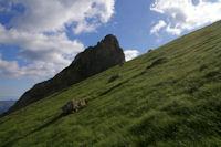 Le Pic Arrouy masquant le Pic du Midi d'Arrens