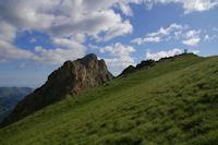 Le Pic Arrouy, Pic du Midi d'Arrens et Col de las Capullas