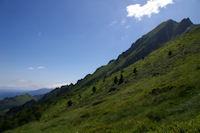 La crete Nord Est du Pic du Midi d'Arrens