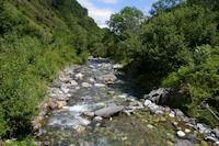 Le Gave d'Arrens depuis le Pont d'Ourey