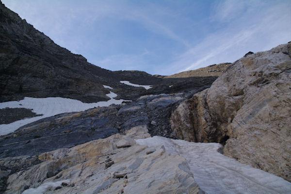 Au fond, le Col de la Munia