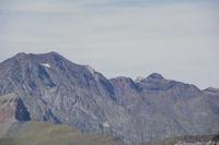 Pic de Campbieil et Pic d'Estaragne, derriere, le Pic de Neouvielle