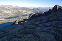 Les Lacs d'Aubert et d'Aumar et les cretes de Barris d'Aubert