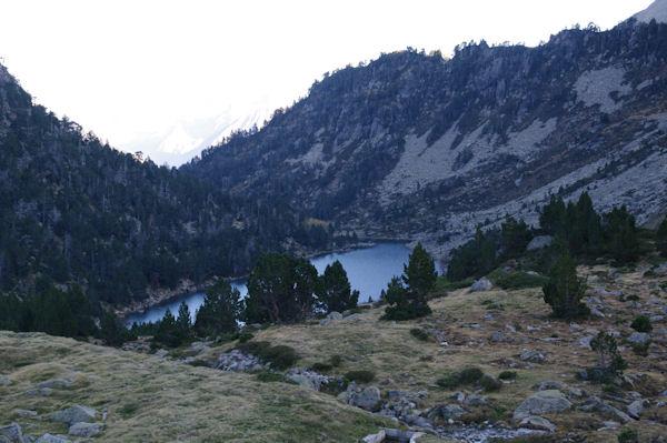 Les Laquettes depuis le barrage du Lac d_Aubert