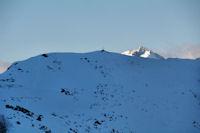 Le Pic de Nerbiou, derrière le Grand Barbat
