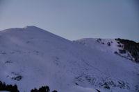 Le Soum de Maucasau et le Pic de Nerbiou au lever du jour