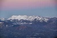 La crete du Soum de Granquet au Soum d'Andorre