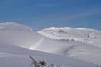 La crete de la Serre depuis le Turon d'Ompre