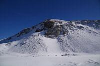 Le Cap d'Aout, face Ouest