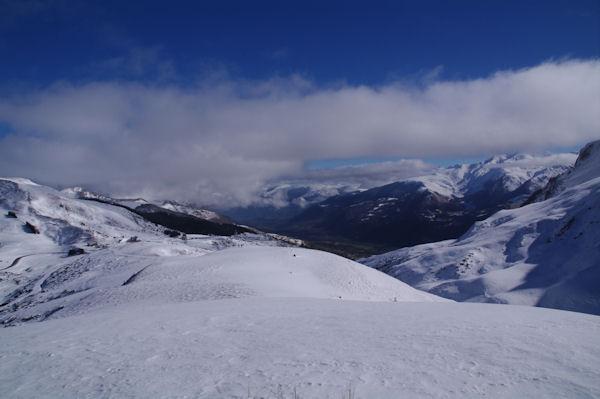 Le Val d_Azun depuis le Turon de Saucède