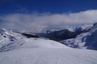 Le Val d'Azun depuis le Turon de Saucede