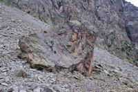 Une toue en montant au Col des Mulets