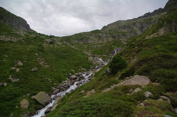 Le vallon sous la Pacca