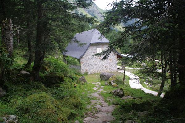 La maison de la Porte du Parc National