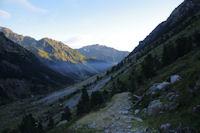 Le chemin montant a la Peyre Saint Martin