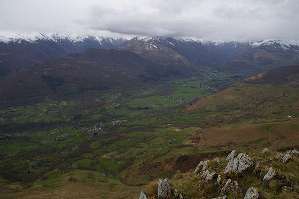 Le Val d_Azun depuis le Soum de la Péne