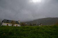 Les cretes du Soum de la Pene depuis Gaillagos, il etait temps de rentrer!