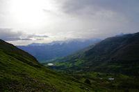 Le Val d'Azun en montant au Col de Liar
