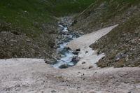 Le ruisseau des Oulettes d'Ossoue au niveau du Pont de Neige