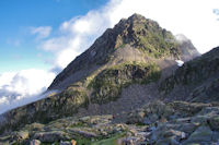 Le Pic et le Col d'Arraille