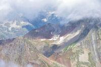 Pic des Oulettes, Col des Mulets, Grand Poc d_Arratille et Col d_Arratille