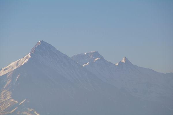 Le Pic du Midi d_Arrens, le Balaïtous et le Pic de Sarret depuis le Pic de Peyre