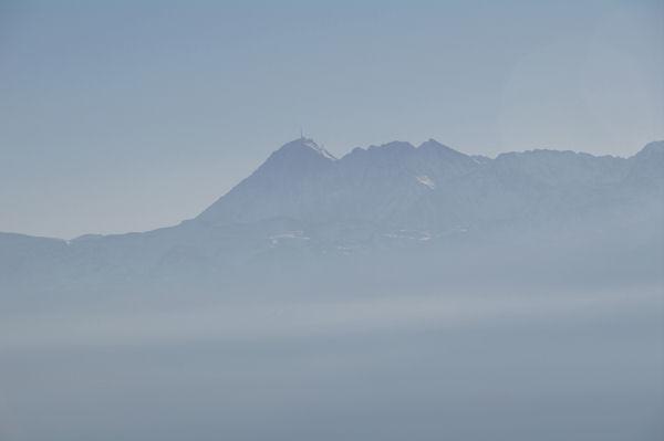 Le Pic du Midi de Bigorre depuis le Pic de Peyre