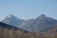 Le Pic de Bazes et le Pic de Navaillo
