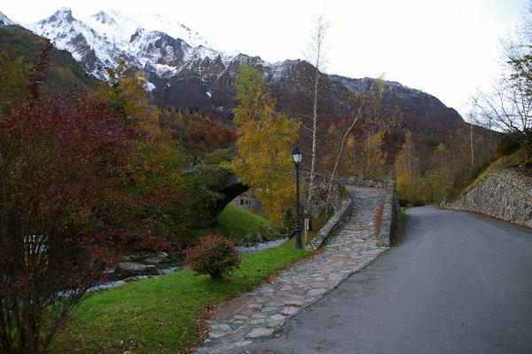 Le pont du Labadet à Arrens