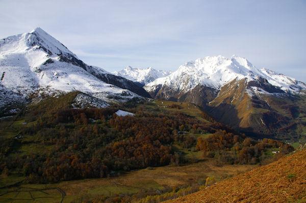 Le Pic du Midi d&#39Arrens et les Gabizos depuis Arréouret