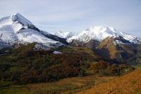 Le Pic du Midi d&#39Arrens et les Gabizos depuis Arreouret