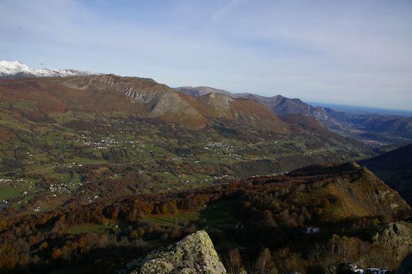 Le bas du Val d&#39Azun depuis le Pic Arrouy