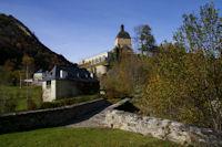 Le pont du Labadet et la Chapelle de Pouey Laün a Arrens
