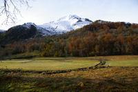 Le Pic du Midi d&#39Arrens depuis le Col des Borderes