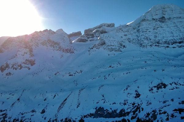 Pic des Sarradets, Brèche de Roland, Pointe Bazillac, Doigt et Taillon depuis le Pic de Tentes